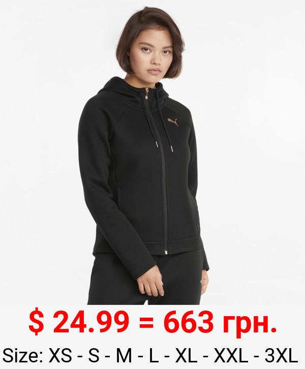 Evostripe Full-Zip Women's Hoodie