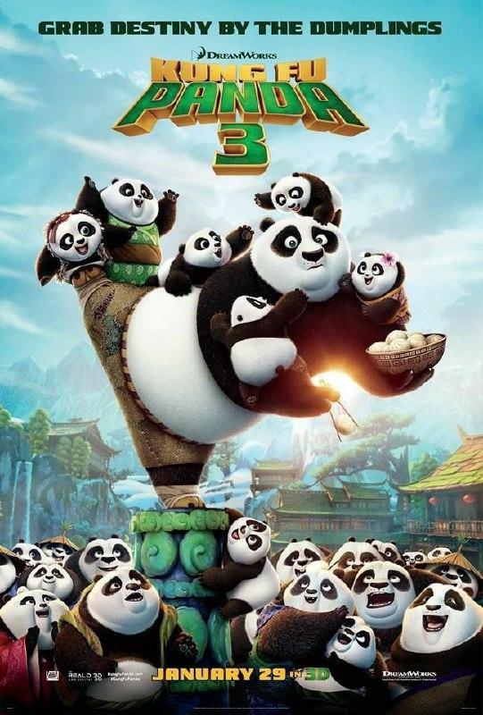 Free Download Kung Fu Panda 3 Full Movie