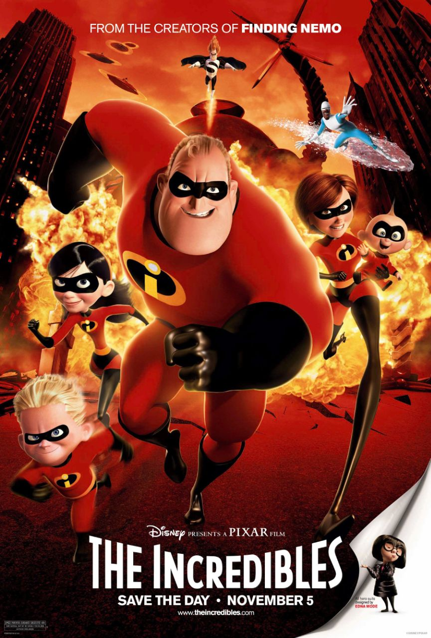 Free Download The Incredibles Full Movie