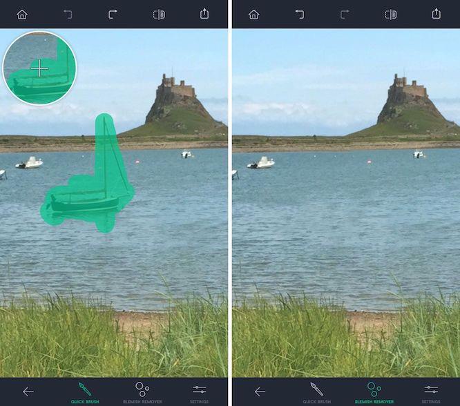 приложение на айфон редактор фото убрать лишнее детей