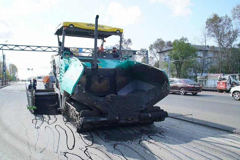 В Хабаровске отремонтируют семь километров Березовского шоссе