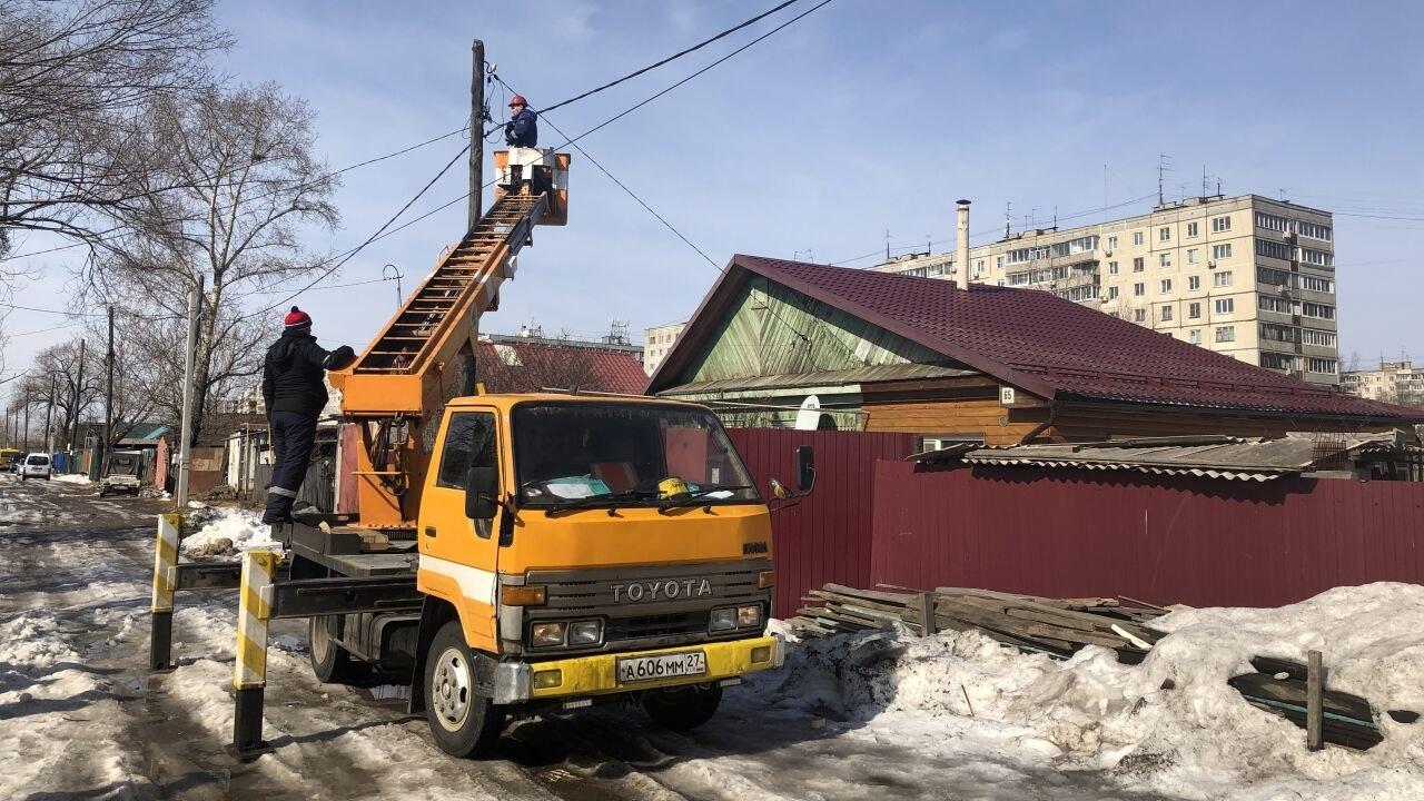 Отключение света проходят в Хабаровске (29 марта 2021)