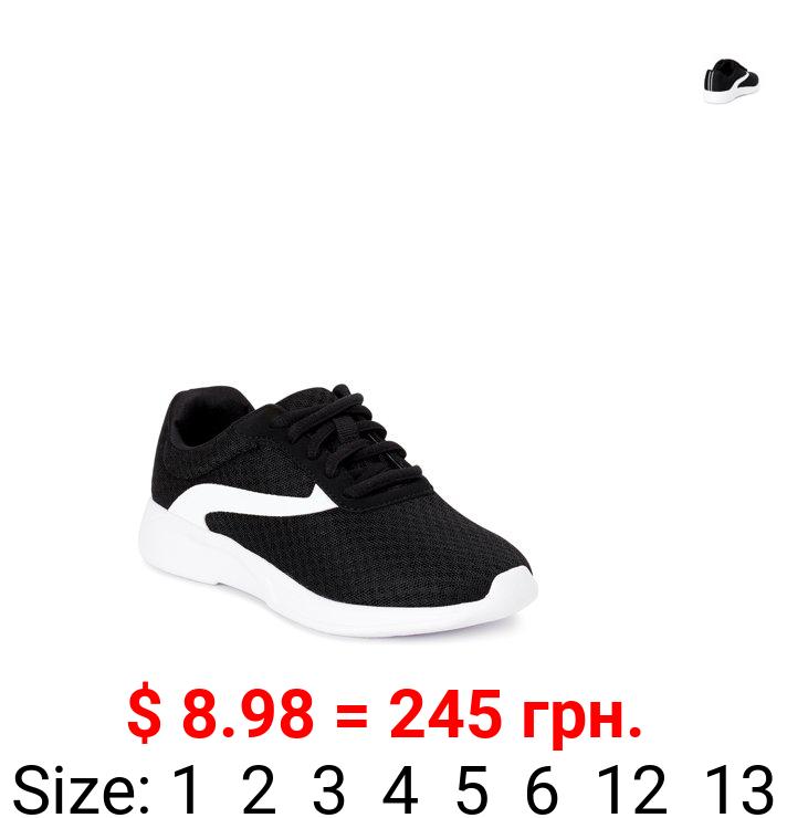 Athletic Works Little & Big Boys Mesh Jogger Athletic Sneaker, Sizes 13-6