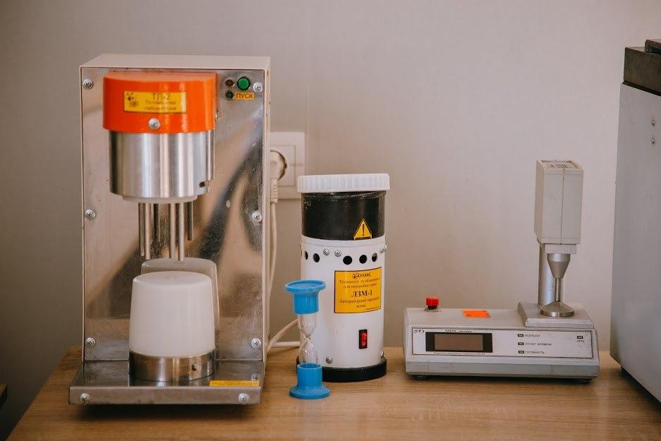 оборудование для лаборатории элеватора