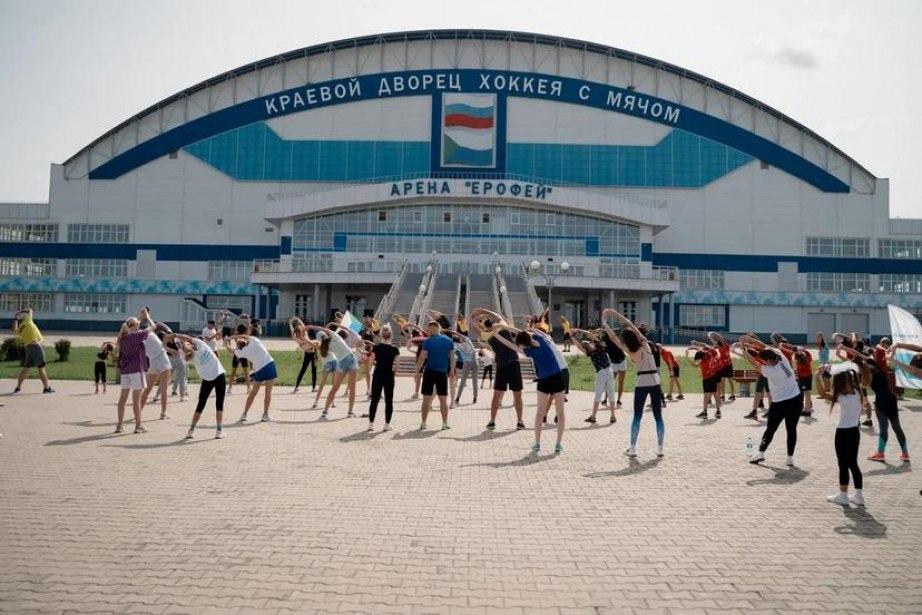 Хабаровчане отметили День физкультурника