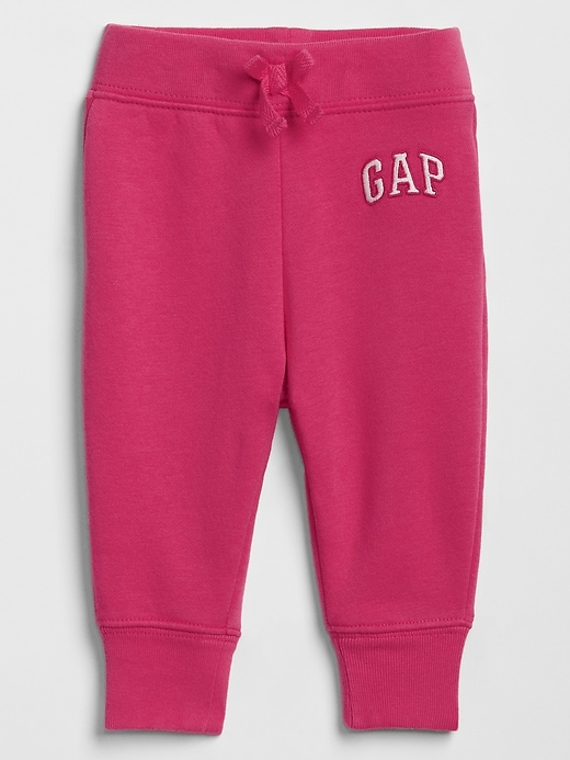 babyGap Gap Logo Pants In Fleece