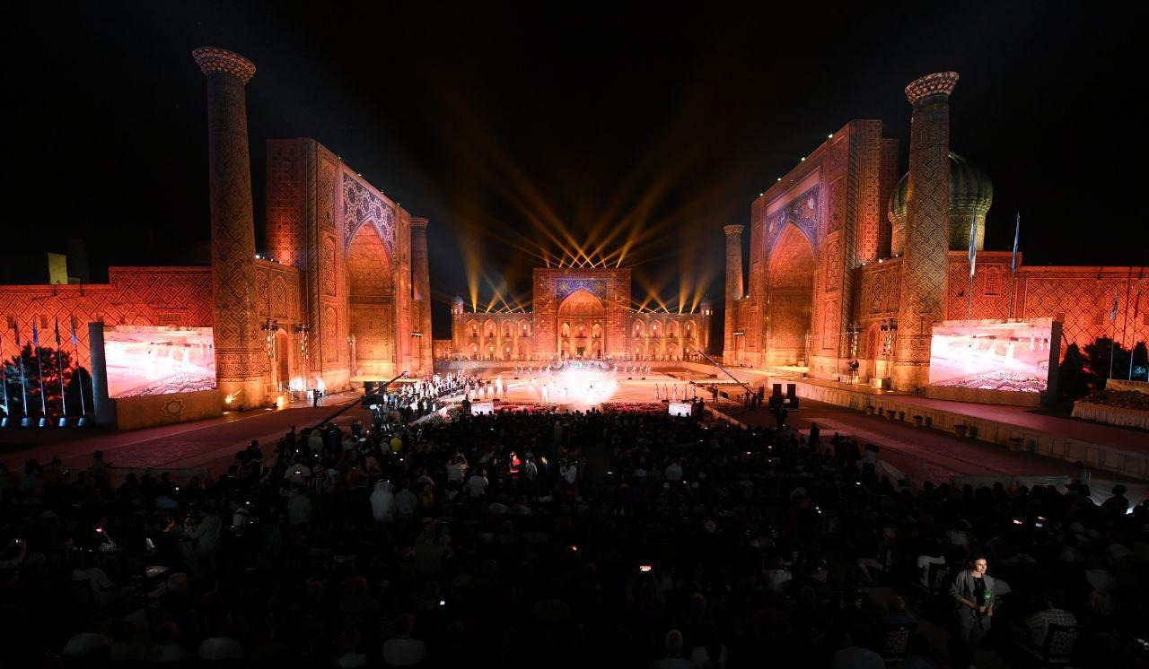 "XII международный фестиваль музыки ""Шарк тароналари"" (фоторепортаж)"