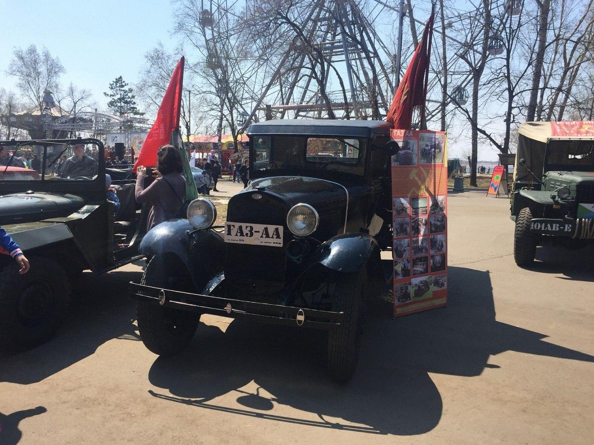 Развлекательные мероприятия и выставка ретро-техники пройдут на Набережной Хабаровска