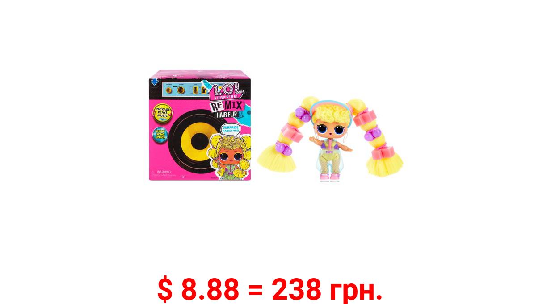 LOL Surprise Remix Hair Flip Dolls - 15 Surprises with Hair Reveal & Music