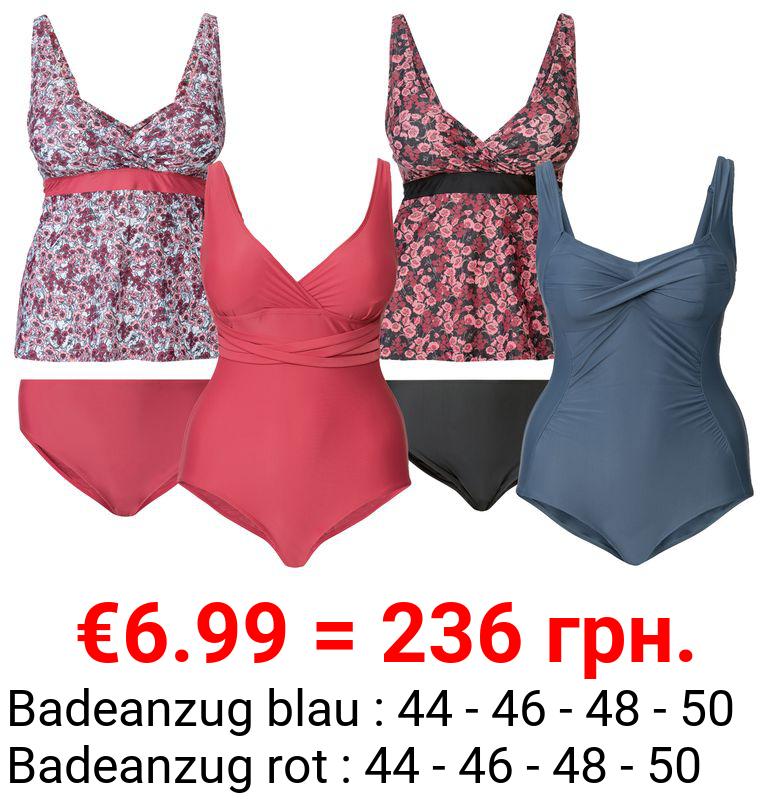 ESMARA® Damen Badeanzug / Tankini