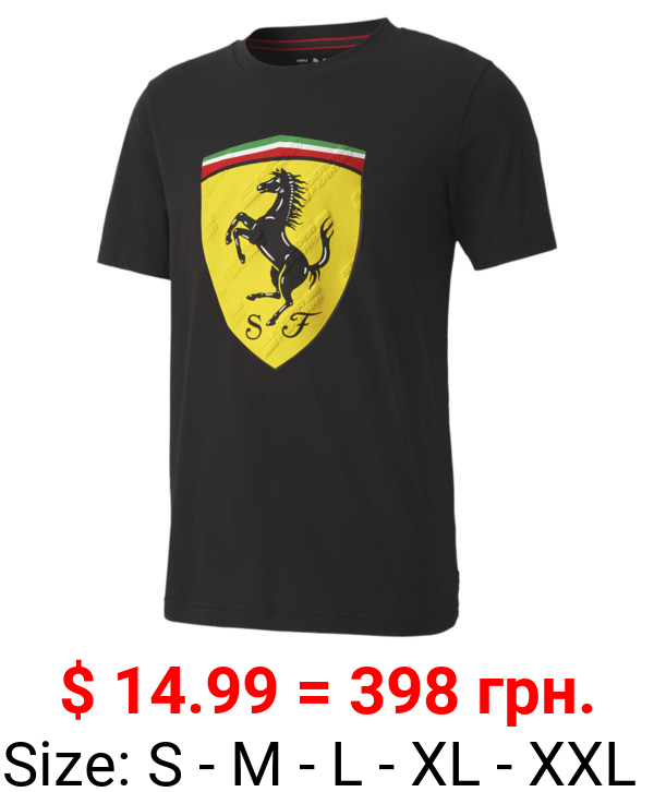 Scuderia Ferrari Race Big Shield Men's Tee