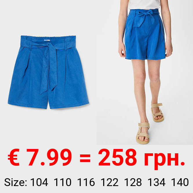 Lyocell-Shorts