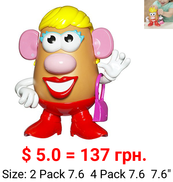 Playskool Friends Mrs. Potato Head Classic Toy for Kids Ages 2+, 10 Different Accessories