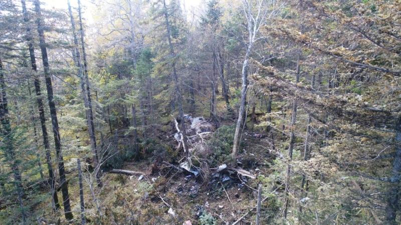 Работы на месте крушения самолета Ан-26 под Хабаровском продолжаются
