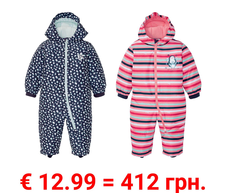 LUPILU® Baby/Kleinkinder Mädchen Winteroverall, mit umweltfreundlicher Imprägnierung