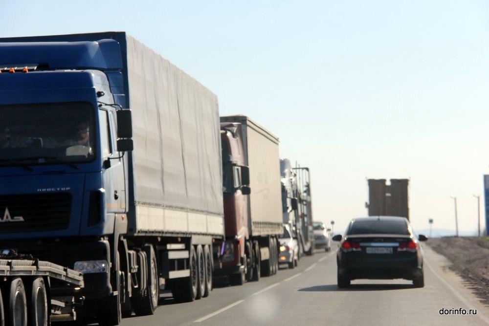 В апреле начнут действовать ограничения для большегрузов