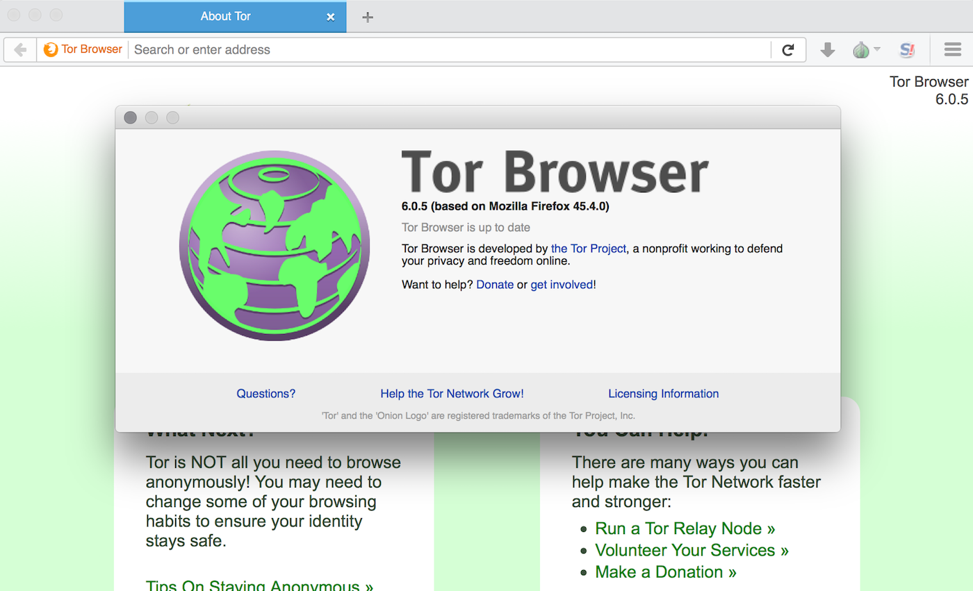 my tor browser is not working