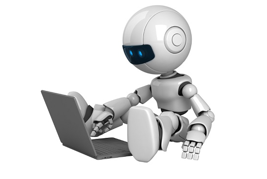 bot with computer