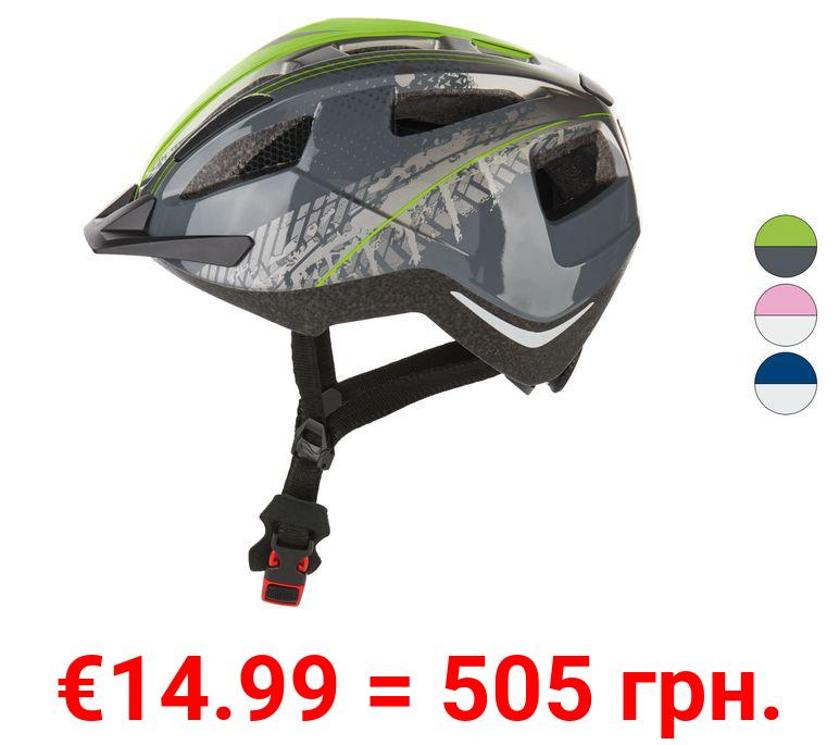 CRIVIT® Kinder Fahrradhelm mit Rearlight