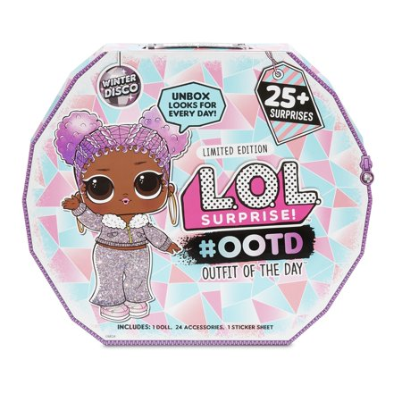 L.O.L. Surprise! #OOTD (Outfit of the Day) Winter Disco with Exclusive Doll & 25+ Surprises