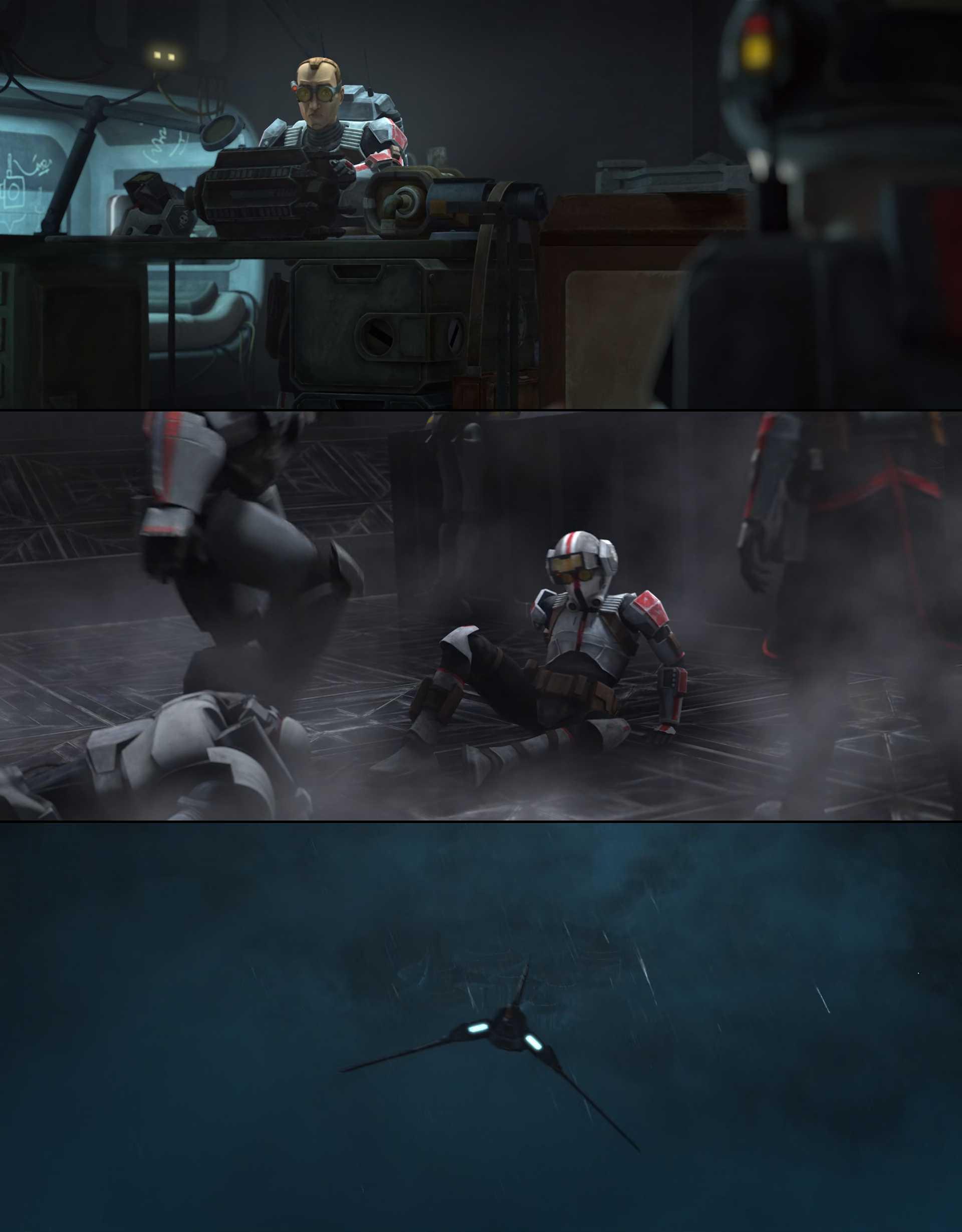 Screenshot of Star Wars: The Bad Batch Movie