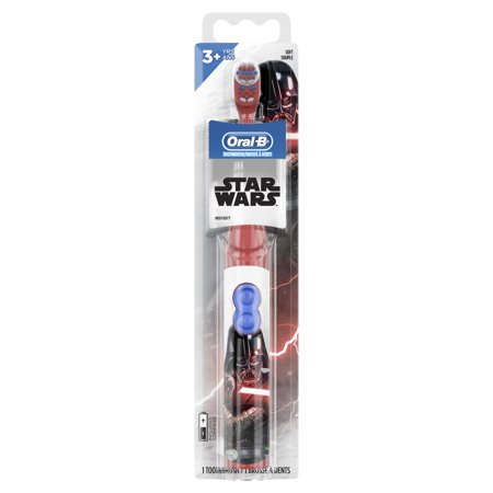 Oral-B Disney Star Wars Kids Battery Toothbrush, Extra Soft Bristles