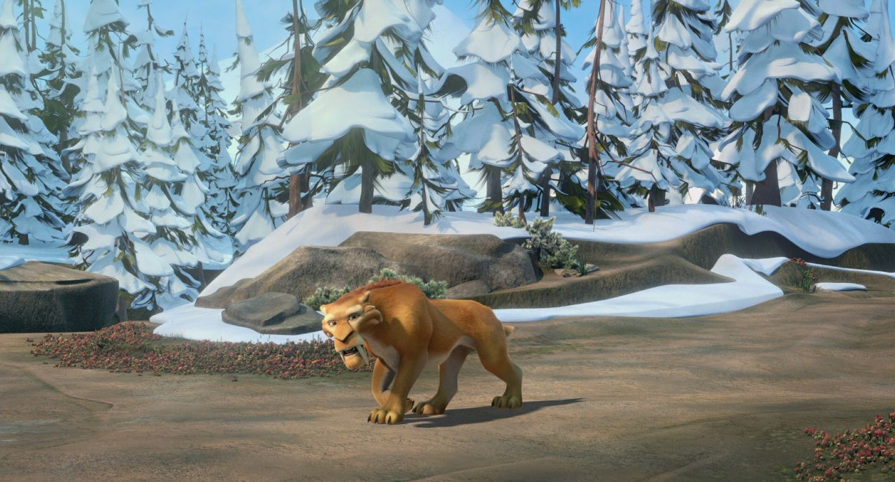 Movie Screenshot of Ice Age: Dawn of the Dinosaurs