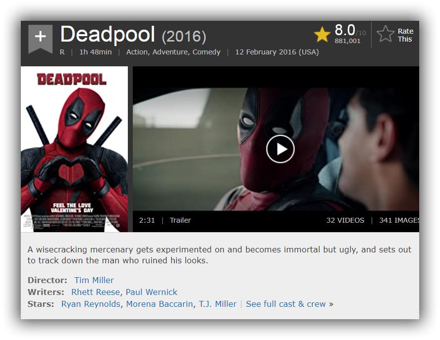 Deadpool 2016 Uhd Bluray 2160p Telegraph