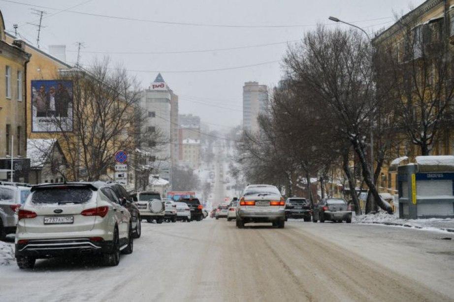 Снежный циклон проходит по Хабаровскому краю