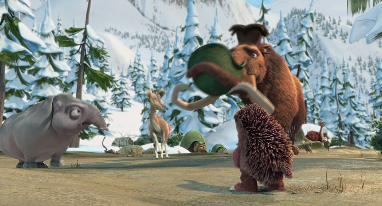 Video Screenshot of Ice Age: Dawn of the Dinosaurs