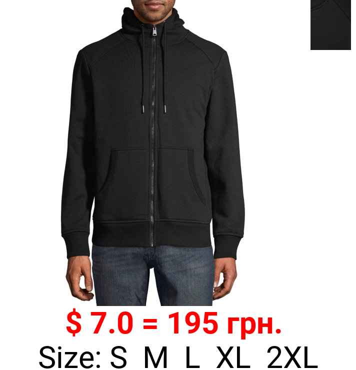 George Men's and Big Men's Faux Sherpa Hoodie, Available Up to Size 5XL