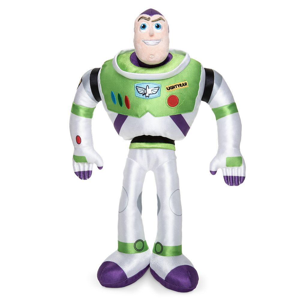 Buzz Lightyear Plush – Toy Story 4 – Medium – 17''