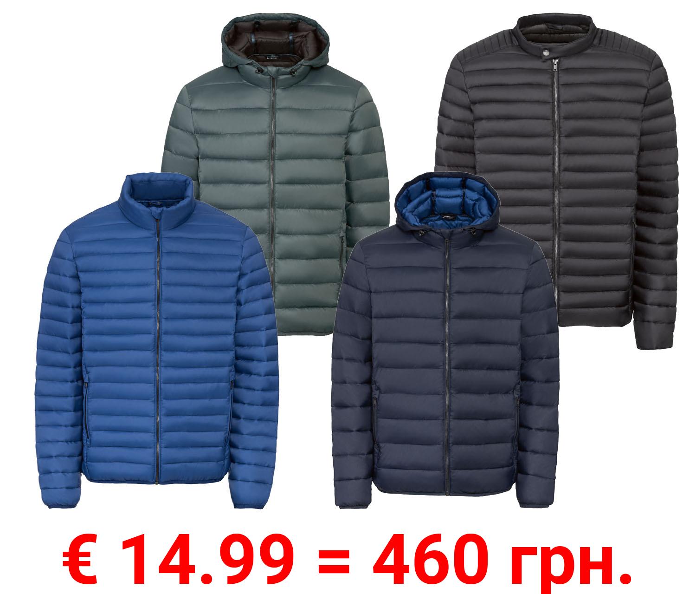 LIVERGY® Herren Lightweight Jacke, windabweisend
