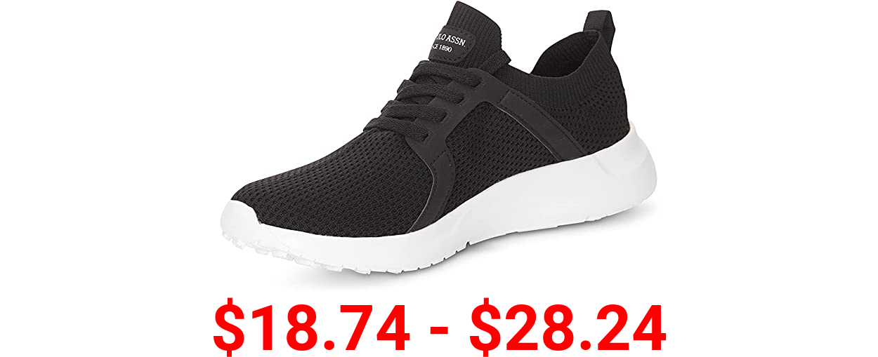 U.S. Polo Assn. Men's Athletic Bench Casual Lace Top Walking, Fashion Sneakers-Sport/Running/Gym/Work Shoe