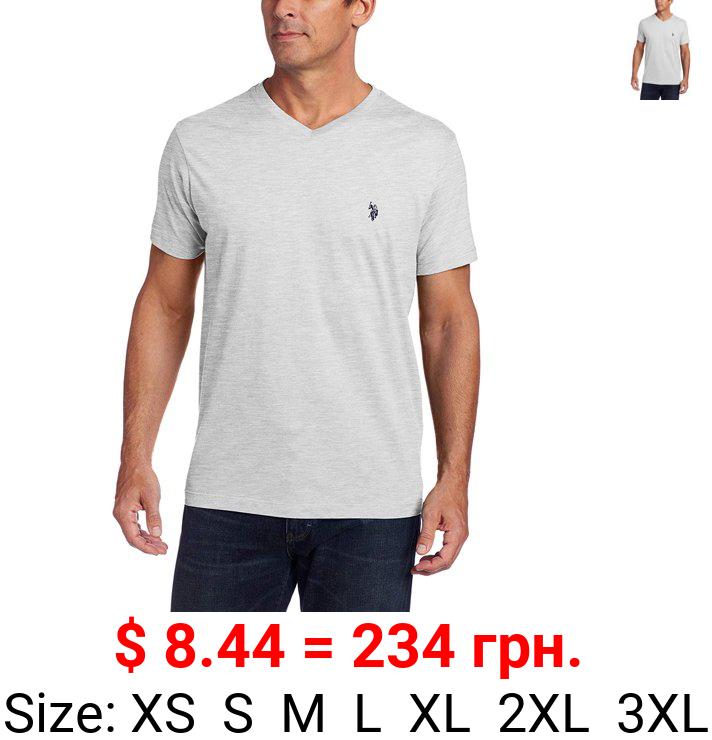 U.S. Polo Assn. Men's Short Sleeve V-Neck Tee