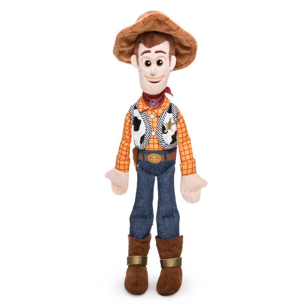 Woody Plush – Toy Story 4 – Mini Bean Bag – 12''