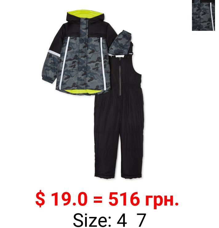 iXtreme Boys Camo Snowsuit, Sizes 4-7