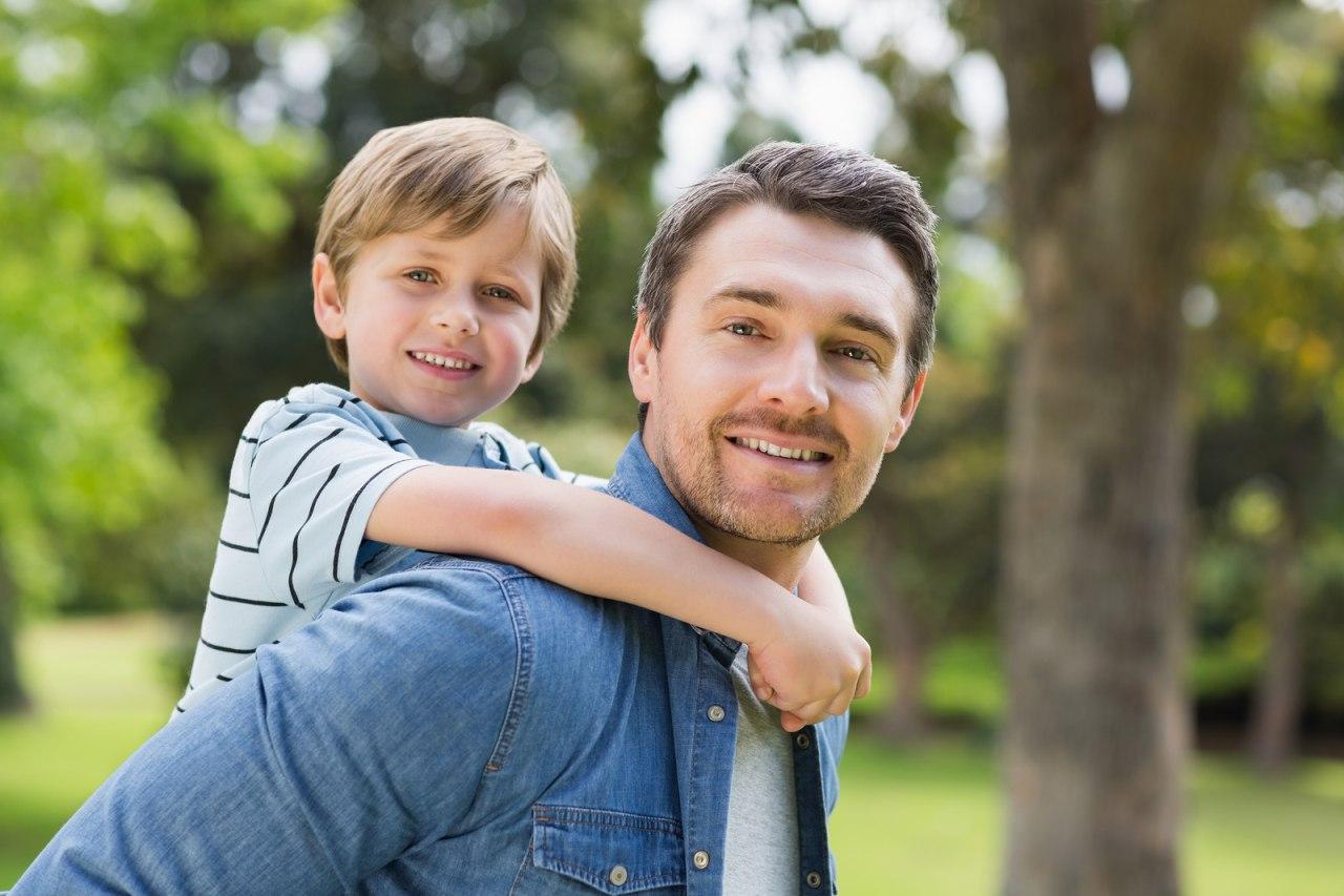 Картинки папы с сыном, настроение