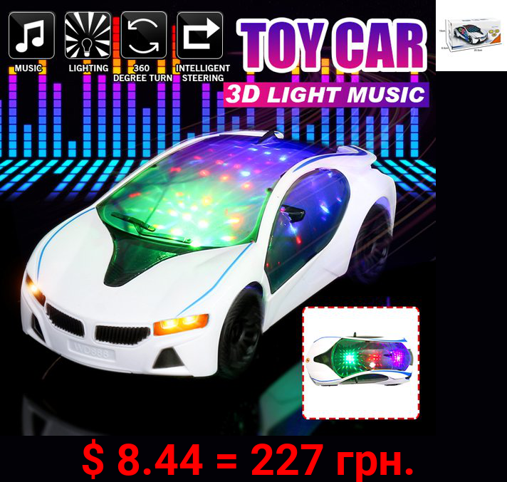 Electric Excavator Toy Car (LED Light + Music) Electronic Engineering Car Toys Vehicles Toys For Children Kids, 7.87x3.54x2.36 inch, 3 to 12 Years