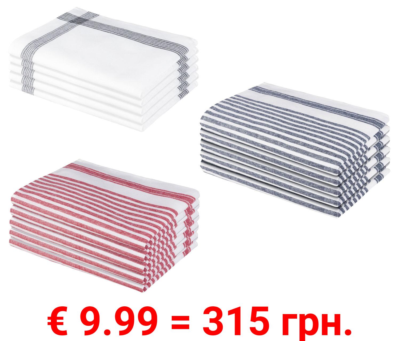 Livarno Home Leinen-Geschirrtücher 5 Stück, 50 x 70 cm