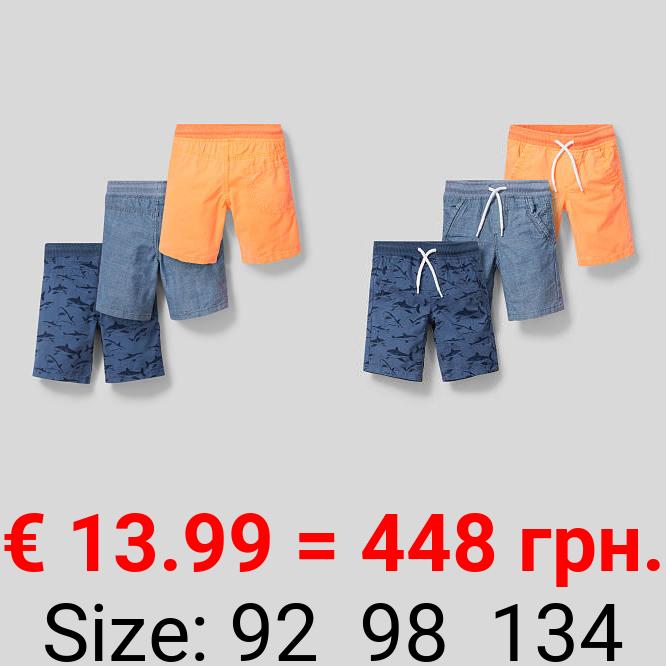 Shorts - 3er Pack
