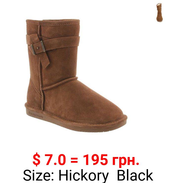 Bearpaw Val Suede Buckle Boot (Women's)