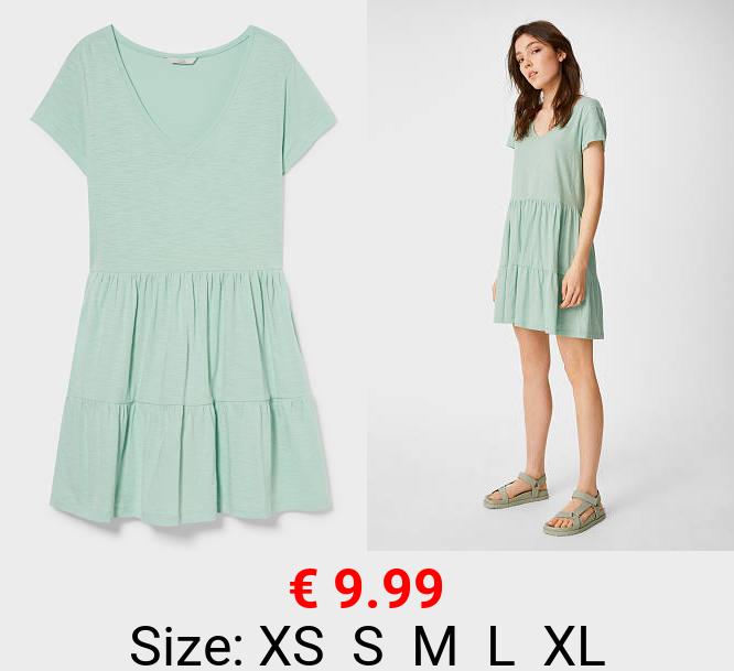 CLOCKHOUSE - T-Shirt-Kleid - Bio-Baumwolle