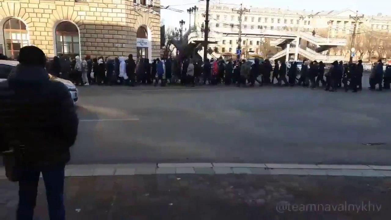 Суд вХабаровске назначил административные аресты участникам протестных акций