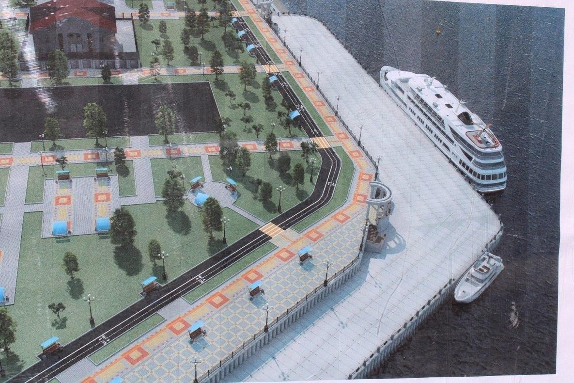 Реконструкция набережной в Хабаровске