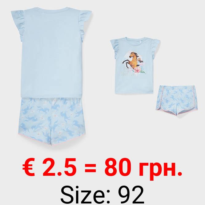 Spirit - Shorty-Pyjama - Bio-Baumwolle - 2 teilig