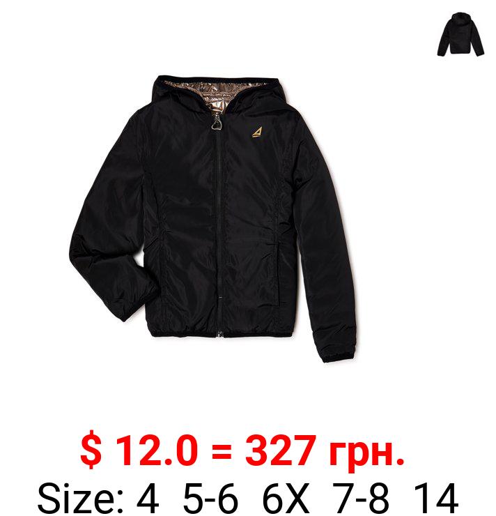 Atlantis Girls Reversible Puffer Jacket, Sizes 4-14