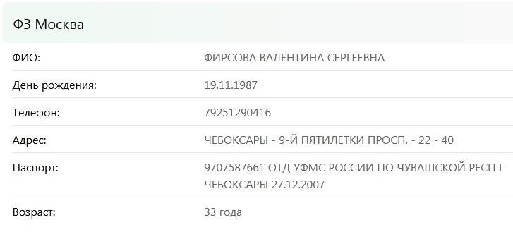 Фирсова Валентина - долбанутая сутерша из Чебоксар. 29