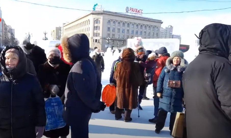 ВХабаровске за участие в протестах задержали двух человек