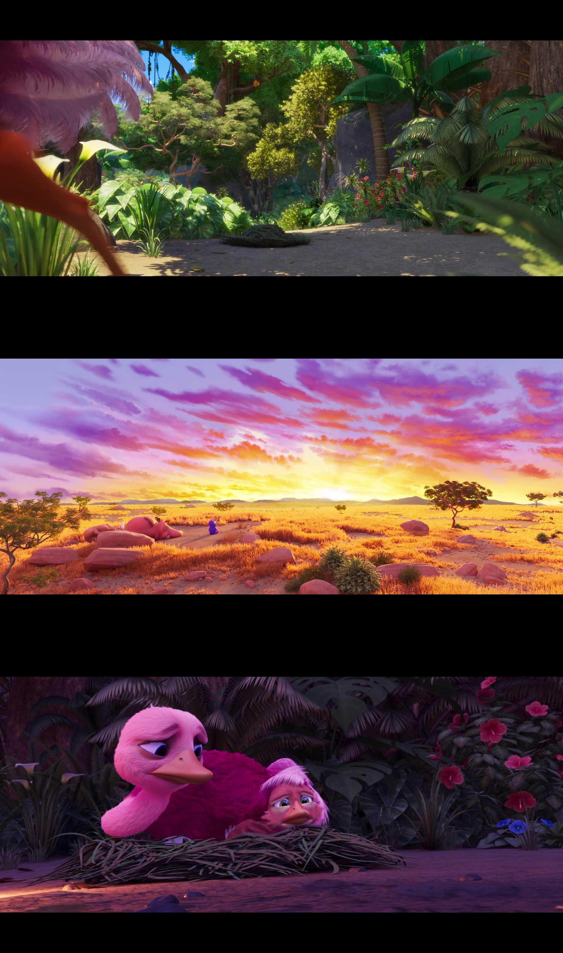 Screenshot of Jungle Beat: The Movie Movie
